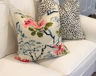 Throw Pillow, Custom Pillow Covers, Zip Off Custom Pillows using your own fabric! Match to a a Roman Shade! Easy to Clean