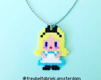 Alice in Wonderland necklace.