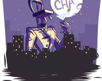 Regular Print - Chairface Chippendale