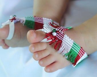 Cinco de Mayo, Baby Cinco de Mayo, Mexican Party, Mexican Baby Sandals, 5th first Cinco de Mayo, Sandals for Mexican Party, Baby Sandals