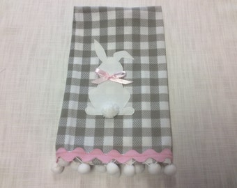 Decorative hand towel/ Tea Towel/ Easter Decoration.  Ready To Ship