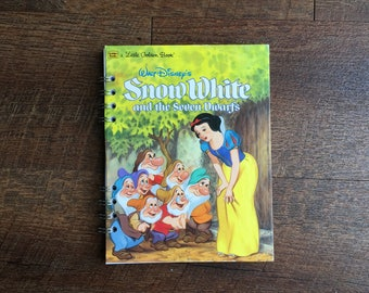 Snow White Disney Autograph Book -Snow White Journal - Snow White Notebook with blank pages - Snow White Princess Diary