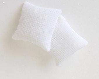 Dollhouse Waffle Euro Pillows