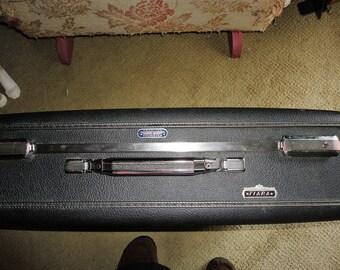 American Tourister Tiara Gray Suitcase Hard Shell Luggage Vintage Travel Bag