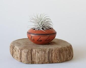 Hopi-Tewa Mini Terra Cotta Pot By Lorena Clashin