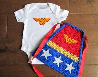 newborn super hero outfit, super hero costume, newborn wonder woman, super hero photo prop