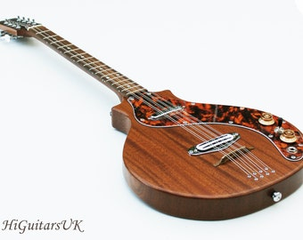 HiGuitarsUK Solid Body Electric Bouzouki.