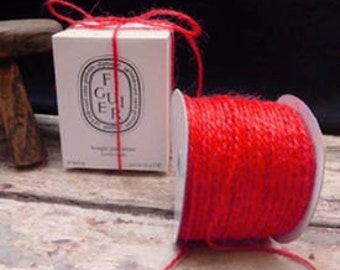 Jute Twine - Red