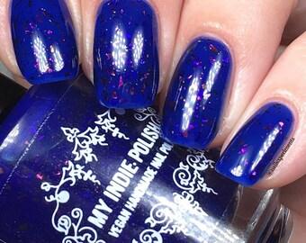 The CNE -  Blue Nail polish - Hello Toronto 15 ml