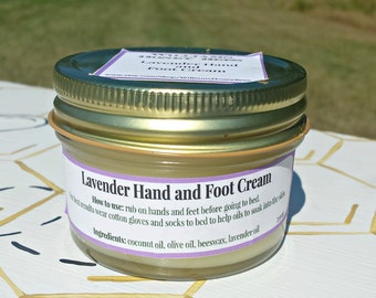 Beeswax Lavender Hand and Foot Cream