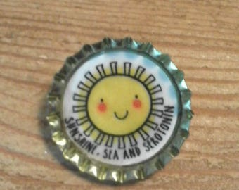 Sunshine badge/mental health awareness