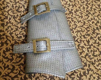 Awesome Chain Mail Looking Bracers! Great for Faire or Larp!