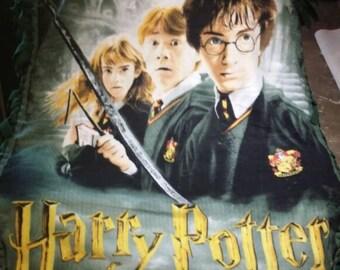 Harry Potter Fleece No-Sew Throw