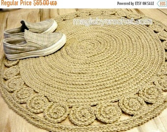 On Sale Hallway Rug 9 Foot Rug Twine Crochet Rug Long Runner