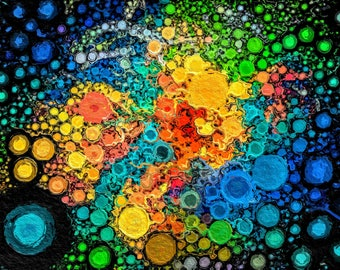 POPPED BUBBLES - Print ***Instant Digital Download***