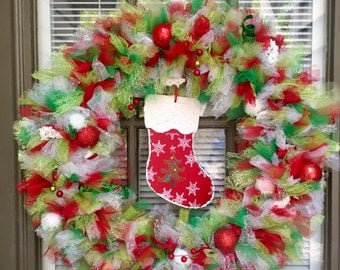 "20"" Tulle wreath"