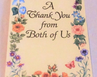 3 Vintage Thank You Cards American Greetings, 1979