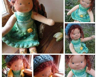 Waldorf doll, Steiner doll, custom doll