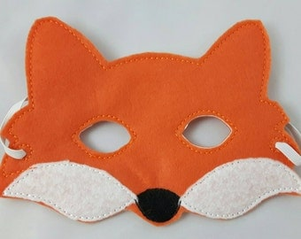 Woodland Mask, Fox Mask