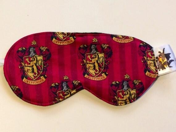 Griffyndor Sleep Mask, Harry Potter Sleep Mask, Harry Potter Eyemask