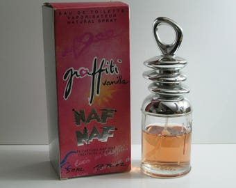 Naf Naf Graffiti Vanilla Very  Rare Vintage Eau de Toilette in Box FREE UK DELIVERY!