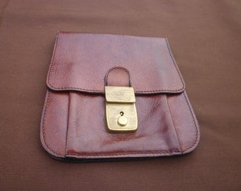 Mr. & Mrs Ride Vintage Leather belt pouch.