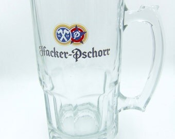 Hacker - Pschorr 1L  Beer Glass
