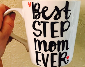 Best step dad  or Step Mom ever -mug-Greatest dad-Funny Father's Day mug - step dad gift