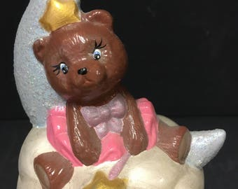 Ceramic Hand painted ToothBeary Box