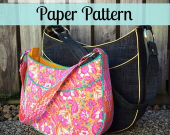 PAPER PATTERN - Roll With It Tote  – Andrie Designs