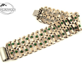 English pattern for the Art Deco bracelet