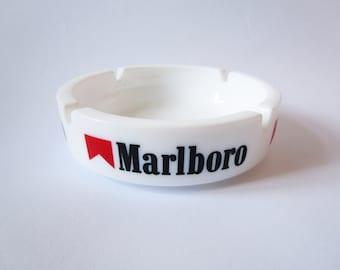 "Vintage ashtray ""Marlboro"" advertising ashtray, France"
