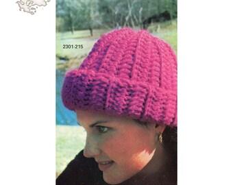 Crochet Pattern | Crochet Hat Pattern | Crochet Hat | Beanie Pattern | Vintage Patterns
