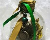 Gambling Luck Witch Bottle // OOAK // New Orleans Voodoo & Hoodoo