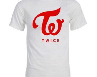 Twice Group Logo K-pop T-Shirt