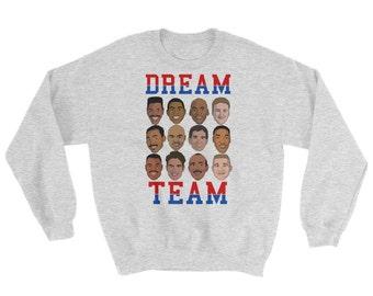 Dream Team Graphic Crewneck Sweatshirt