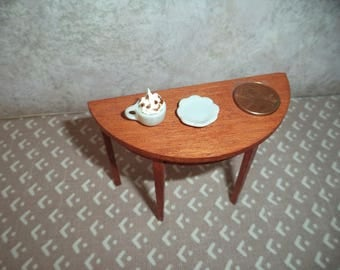 1:12 scale Dollhouse Miniature Cup of Cappuccino