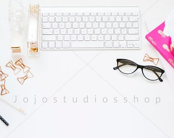Flatlay, Styled Desktop, Styled Stock Photography, Mock Up, Digital Background, Stylized Photo with Glasses, Accessories Mockup, Stock43