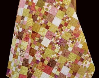 Madison Cottage Rose Jelly Print or Batik Quilt Pattern