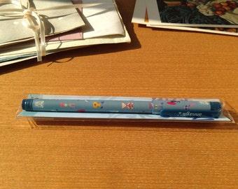Anna Gili 12 Animals 10 × 145mm pen (blue) 0.5mm/oil-based ink by 7321 design™