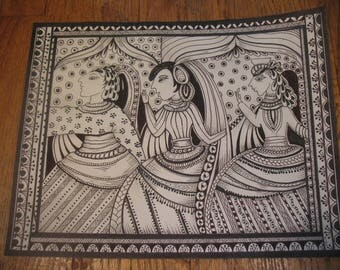 Three Ladies...Laser Prints