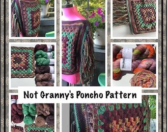Not Grannys Poncho Pattern