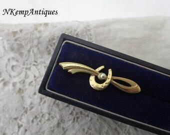 Equestrian stock pin 1930's