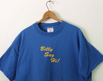 XLARGE Vintage 1990s Billy Says Hi! Billy Says Bye! Graphic T-Shirt