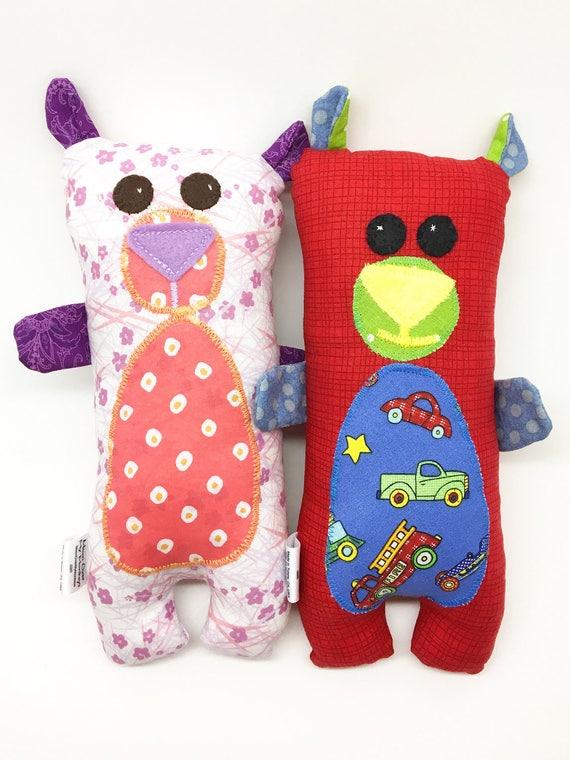 Custom Order Handmade Bear Softie- Wuzzy Bear Choice of Theme