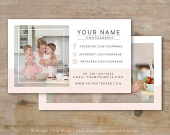 Business Card Template - Photography Business card template - Photographer Business Card Design