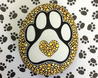Puppy Paw Stone (Medium)