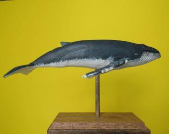 Humpback Whale in Oak #5