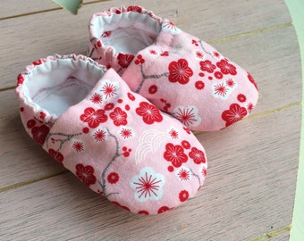 Cherry Blossom Shoes for Baby Girls