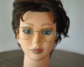 Vintage WOMEN'S METAL GLASSES, women's frames....